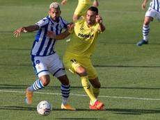 Iborra avisó del peligro del Sivasspor. EFE/ Domenech Castelló