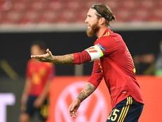 Enrique says Ramos can cope. AFP