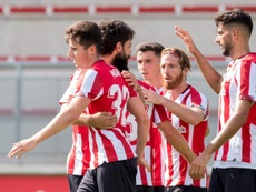 Oviedo y Athletic empataron en el Tartiere. EFE/ATHLETIC CLUB