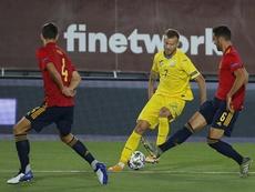 Spain will play again at the DI Stefano stadium. EFE