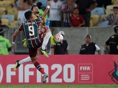 Un gol en el 93' saca del barco a Fluminense. EFE/Marcelo Sayao/Archivo