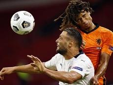 Ake admet avoir snobé l'intérêt de United pour rejoindre City. EFE