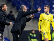 Cadiz's manager spoke about his victory over Real Madrid. EFE