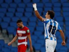 Oyarzabal cree que la Real se mereció el empate ante el Nápoles. EFE