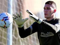 Ivo Grbic espera una oportunidad en el Atleti. EFE