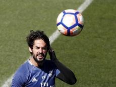 Isco pidió salir del Madrid cuando sea posible. EFE