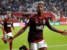 Bruno Henrique, um dos desfalques do Flamengo por dar positivo para Covid-19. EFE/Ali Haider/Arquivo