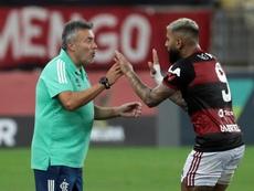 Flamengo visitaria o São Paulo neste domingo. EFE/Antonio Lacerda/Arquivo