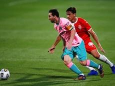 Messi non era un obiettivo dell'Inter. EFE
