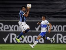 Guaraní y Gremio, cara a cara en los octavos de la Copa Libertadores. EFE