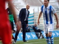 Le Real Madrid s'est contenté d'un match nul. EFE