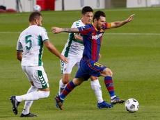 El aplastante parcial del Barça ante el Elche: ¡31-0! EFE
