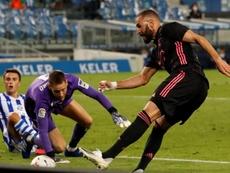 Benzema 350 matchs en Liga. EFE