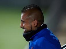 Vidal has left for Inter. EFE