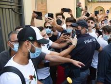 Suárez habría obtenido la ciudadanía italiana mediante una estafa. EFE/EPA