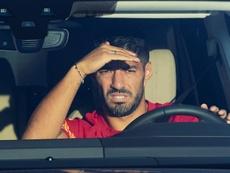 Luis Suárez se aproxima do Atlético de Madrid. EFE/Alejandro García/Arquivo