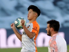 Betis and Monaco interested in Kang-In Lee. EFE