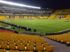 Jogo entre Flamengo e Barcelona foi suspenso pelas autoridades de Guayaquil. EFE
