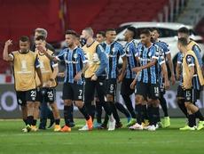 Gremio pide que el partido ante Sao Paulo se repita. EFE/Buda Mendes