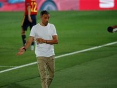 Luis Enrique won't accept criticism of De Gea. EFE