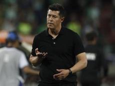 Guido Carrillo sigue teniendo molestias en la rodilla. EFE