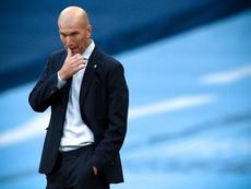 Zidane habló sobre el estado de Hazard. EFE