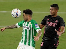 Betis could let Sanabria leave. EFE/Archivo