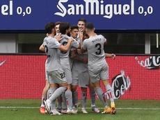 El Athletic consigue su primer triunfo de la temporada. EFE