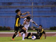 Real España venció por 0-3 en su visita a Honduras Progreso. EFE
