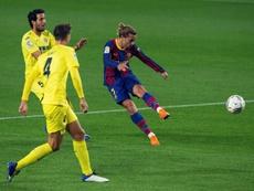 Antoine Griezmann expresó su deseo de jugar en la mediapunta. EFE