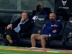 Koeman dijo que el Barça quiere fichar a Depay. EFE