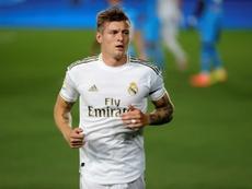 Confira os 20 convocados do Real Madrid contra o Cádiz. EFE/JuanJo Martín