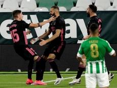Fede Valverde e Benzema devem estar entre os titulares do Real Madrid. EFE/Julio Muñoz