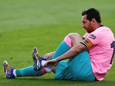 Messi wants to move on from previous events. EFE