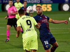 SD Huesca y Atlético empataron en El Alcoraz. EFE/Javier Blasco