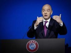 La FIFA informó del positivo de Infantino. EFE/Archivo