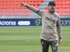 Simeone ha insistido en las rotaciones entre Herrera y Torreira. EFE