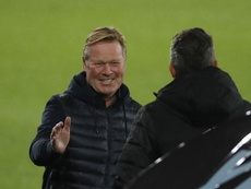 Ronald Koeman spoke about his entrance to the club. EFE