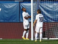 Modric quiere seguir en el Madrid. EFE/Domenech Castelló