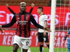 Il Milan vince a San Siro. EFE