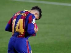 Koeman evitó el fichaje de Coutinho por el Arsenal. EFE/Alberto Estévez