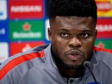 Thomas Partey forfait avec le Ghana. EFE