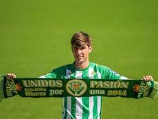 Miranda entró por primera vez en la lista del Betis. EFE