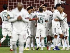 Les débuts manqués de Frank de Boer contre le Mexique. EFE