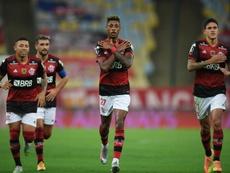 Os maiores artilheiros do Flamengo no século XXI. EFE/Carl de Souza