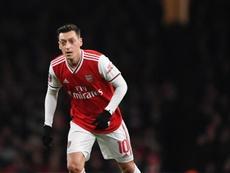 Özil podría quedarse sin jugar. EFE