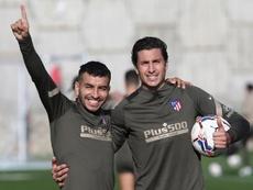 Correa habló de la Champions y del duelo ante el Bayern. EFE/Atlético de Madrid