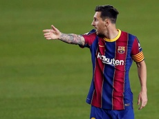 Messi lo tiene claro: quiere jugar la final. EFE
