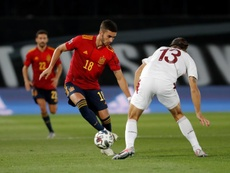 España y Argentina escalan un puesto en el ranking FIFA. EFE/Chema Moya