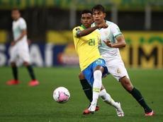 Rodrygo against Bolivia. EFE
